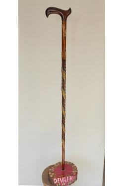 Ortopedik Sap Yılanlı Model Baston YLN 0026